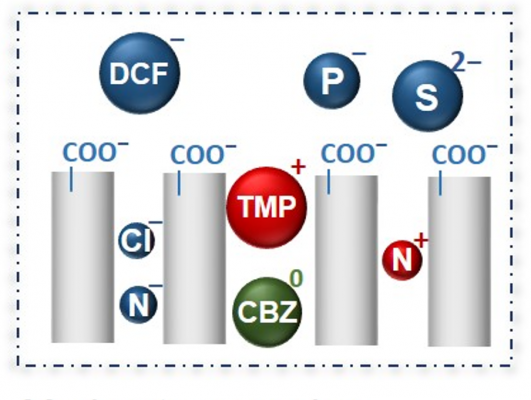 Schematics illustrating the various membrane characteristics that can be fabricated using Georgia Tech's innovative process.