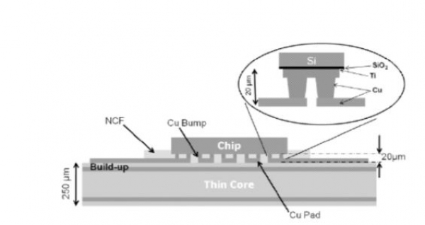 Fine-Pitch Chip-to-Substrate Interconnect Assemblies for Advanced Electronics Applications
