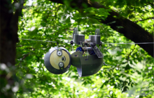 SlothBot in the canopy of the Atlanta Botanical Garden